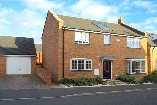 Thumbnail Town house to rent in Galileo Close, Northampton
