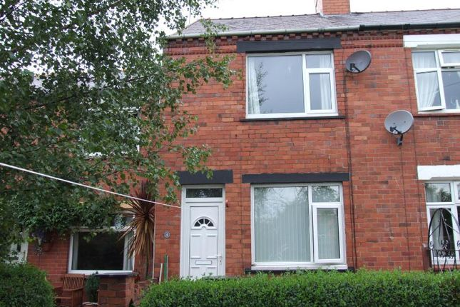 Thumbnail End terrace house to rent in Clarke Street, Ponciau, Wrexham