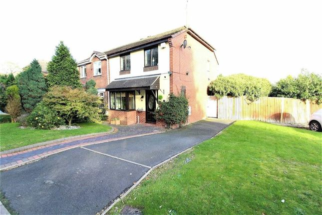 Thumbnail Semi-detached house for sale in Fir Tree Drive, High Arcal, Sedgley