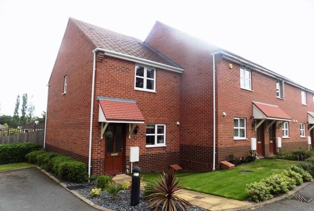 Thumbnail End terrace house to rent in Bramble Way, Sutton Coldfield