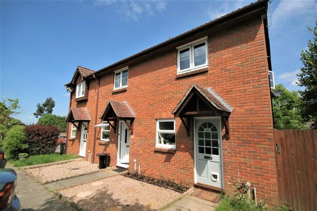 Thumbnail Terraced house to rent in St. Peters Gardens, Wrecclesham, Farnham