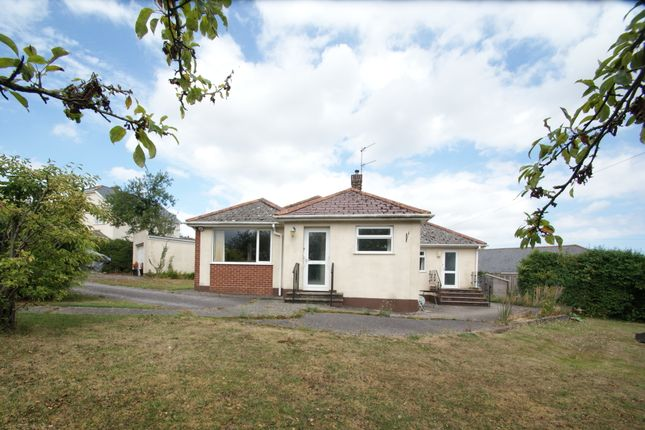 Thumbnail Detached bungalow for sale in Oak Park Road, Newton Abbot
