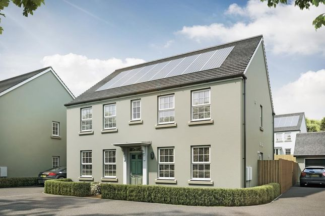 "Thumbnail Detached house for sale in ""Chelworth"" at Redmoor Close, Tavistock"