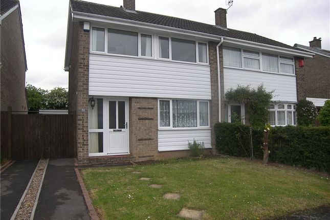 Thumbnail Semi-detached house to rent in Heronswood Drive, Spondon, Derby