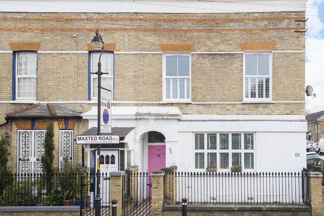 Thumbnail Maisonette for sale in Maxted Road, Peckham, London
