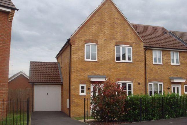 Thumbnail Semi-detached house to rent in Clay Furlong, Sandhills, Leighton Buzzard, Bedfordshire