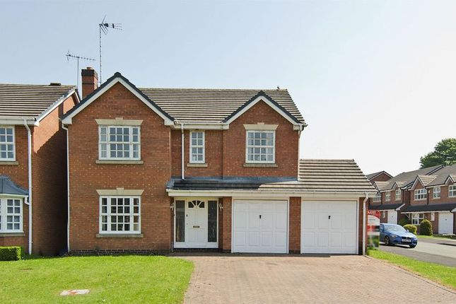 Thumbnail Detached house for sale in Croxley Drive, Hednesford, Cannock