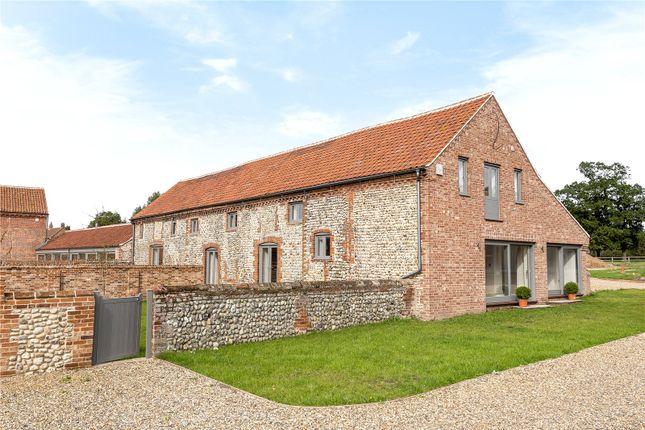 Thumbnail Barn conversion for sale in Grove Farm Barns, Roughton Road, Felbrigg, Norwich