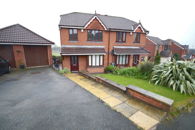 Thumbnail Semi-detached house to rent in Gresley Avenue, Horwich, Bolton