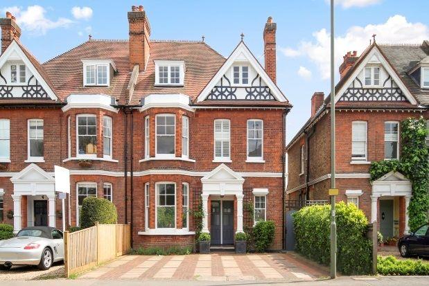 Thumbnail Semi-detached house to rent in Bridge Road, East Molesey