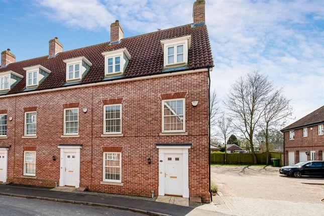 Thumbnail Town house for sale in Tudor Rose Way, Starston, Harleston