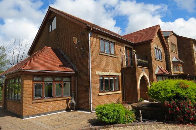 Thumbnail Detached house for sale in Clos-Bryn-Brith, Tredegar
