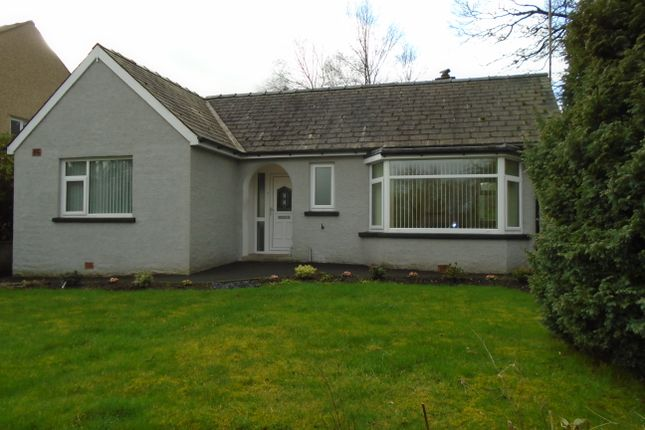 Thumbnail Detached bungalow for sale in Priory Road, Ulverston