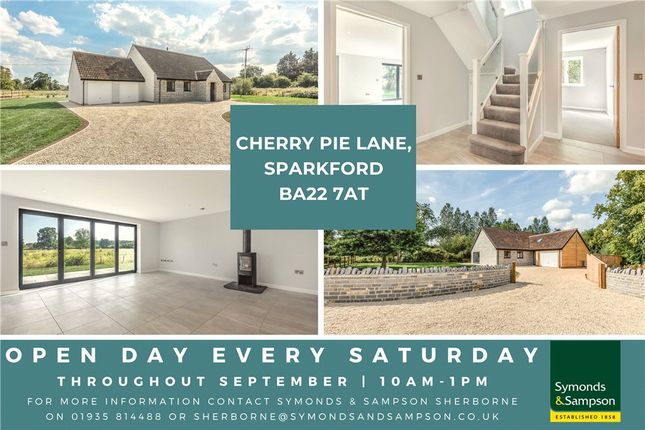Thumbnail Detached bungalow for sale in Cherry Pie Lane, Sparkford, Yeovil, Somerset