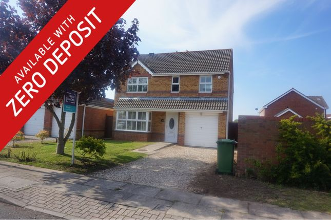 Thumbnail Detached house to rent in Darwin Court, Grimsby