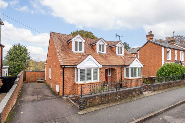 Thumbnail Detached house for sale in Church Road, Chavey Down, Ascot, Berkshire