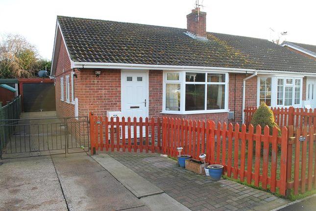 Thumbnail Semi-detached bungalow for sale in Hambleton View, Tollerton, York