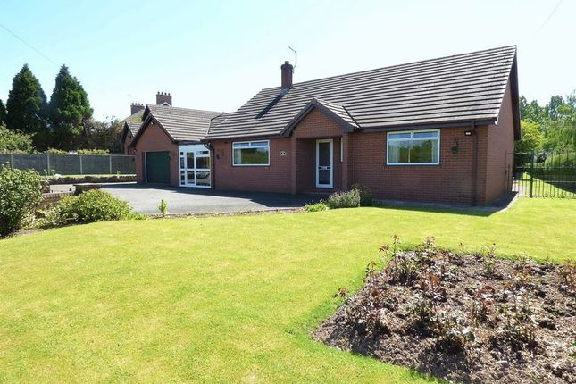 Thumbnail Detached bungalow for sale in Horsemans Green, Whitchurch