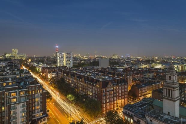 Thumbnail Flat for sale in Marathon House, Marylebone, London