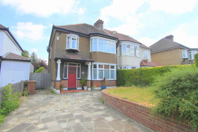 Thumbnail Semi-detached house for sale in Boundary Road, Wallington