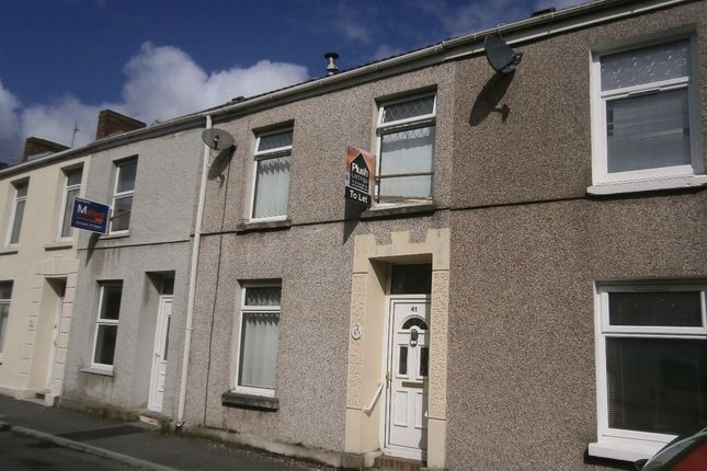 Thumbnail Terraced house to rent in High Street, Llanelli