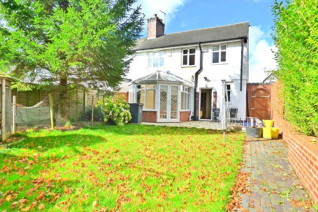 Thumbnail Semi-detached house to rent in The Avenue, Hartshill, Stoke-On-Trent