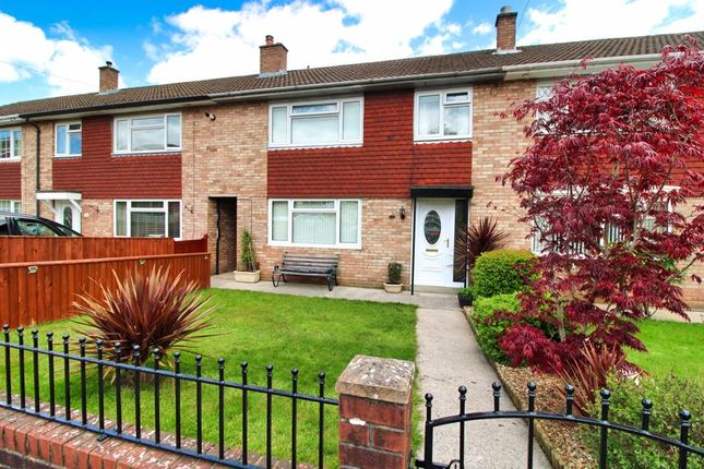 Thumbnail Terraced house for sale in St. Andrews Crescent, Abergavenny