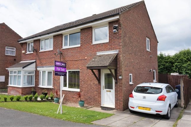 Thumbnail Semi-detached house for sale in Foxfold, Skelmersdale