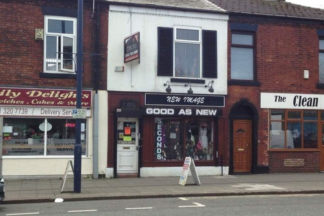 Thumbnail Commercial property for sale in Manchester Road, Denton, Manchester