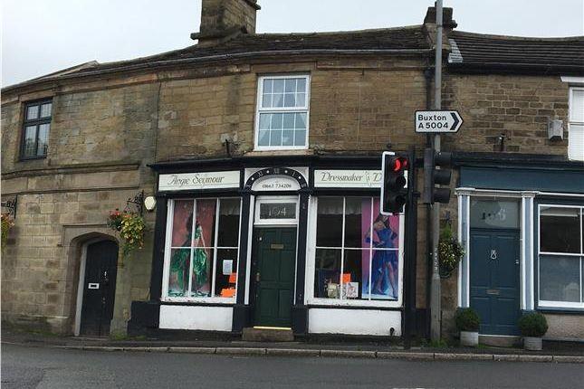 Thumbnail Retail premises for sale in 104 Buxton Road, High Peak, Whaley Bridge, Derbyshire