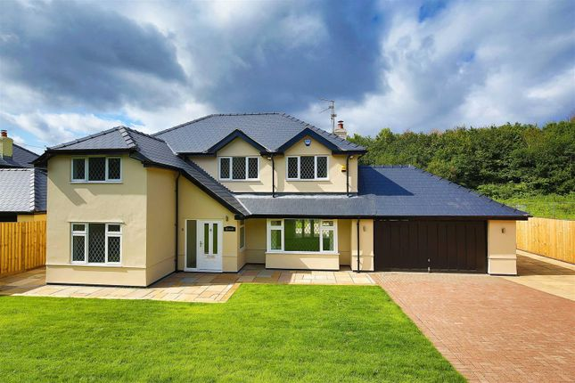 Thumbnail Detached house for sale in Bridge Road, Old St. Mellons, Cardiff
