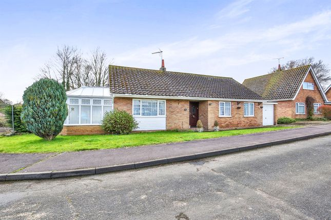 Thumbnail Detached bungalow for sale in Larch Grove, North Elmham, Dereham