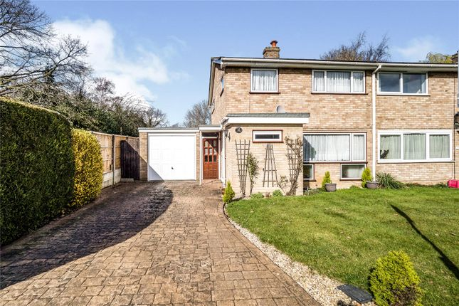 Thumbnail End terrace house for sale in Tomlyns Close, Hutton, Brentwood, Essex