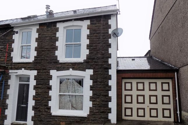 Thumbnail End terrace house for sale in Crosswood Street, Treorchy, Rhondda Cynon Taff.