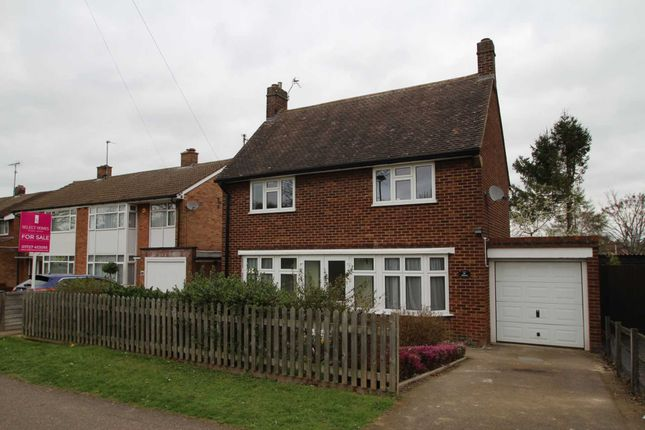 Thumbnail Detached house for sale in Bedford Road, Letchworth, Hertfordshire