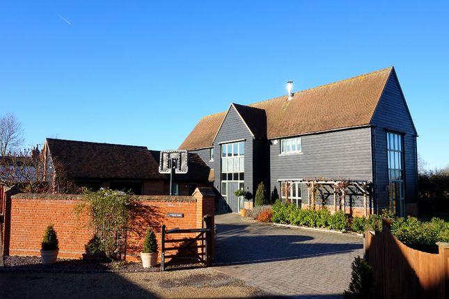 Thumbnail Barn conversion for sale in Beehive Close, East Bergholt, Colchester, Suffolk