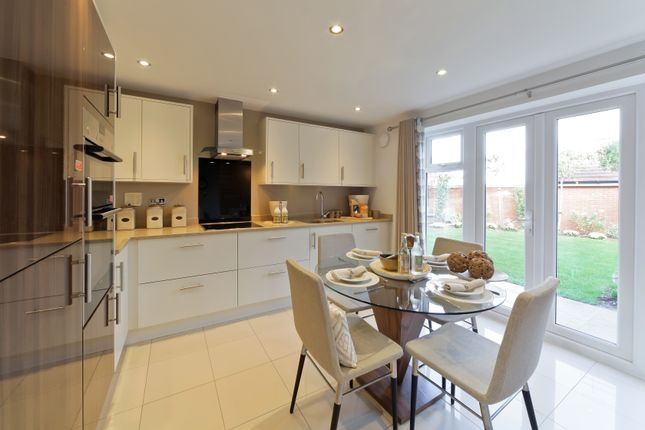 "Thumbnail Semi-detached house for sale in ""The Bampton Variant"" at Robin Road, Goring-By-Sea, Worthing"