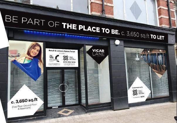 Thumbnail Retail premises to let in 84 - 86 Vicar Lane, Leeds, West Yorkshire