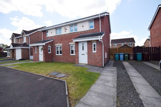 Thumbnail Semi-detached house for sale in Berryhill Crescent, Wishaw