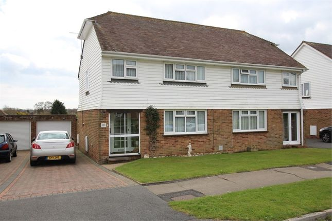 Thumbnail Semi-detached house for sale in Heathlands, Westfield, Hastings, East Sussex