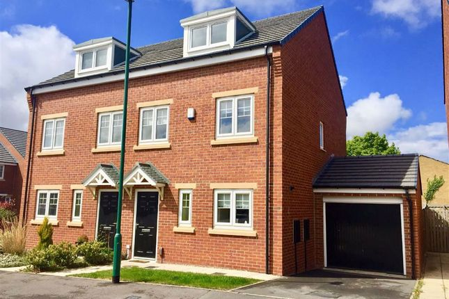 Thumbnail Terraced house to rent in Harton Court, South Shields