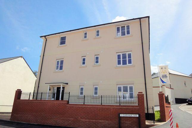Thumbnail Flat to rent in Carhaix Way, Dawlish