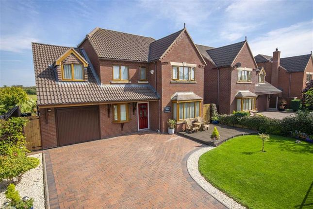 Thumbnail Detached house for sale in Queens Meadow, Queens Head, Oswestry