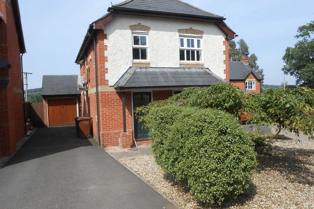 Thumbnail Detached house to rent in Summer Close, Hemyock, Cullompton