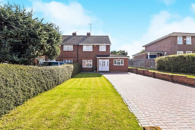 Thumbnail Semi-detached house for sale in Wellfield, Hartley, Longfield