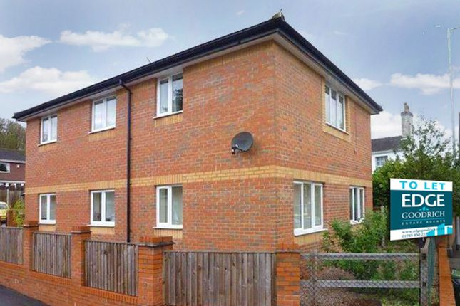 Thumbnail 2 bed flat to rent in Friarswood Road, Newcastle