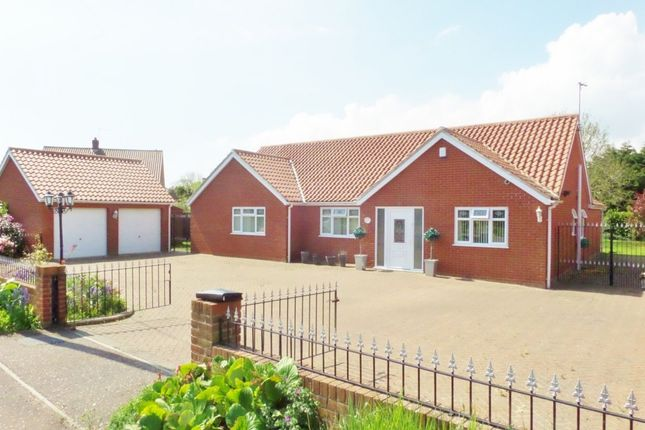 Thumbnail Detached bungalow for sale in Old Coast Road, Ormesby
