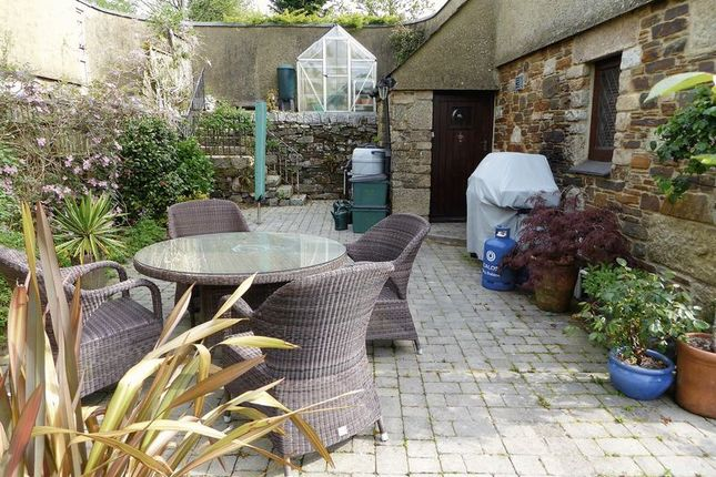 Patio of Orchard Court, Lamerton, Tavistock PL19
