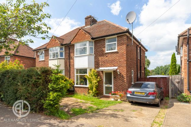 Thumbnail Semi-detached house for sale in 12 Redhoods Way East, Letchworth
