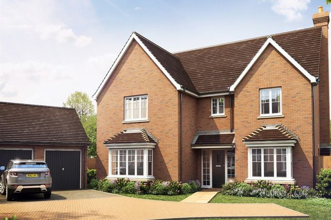 "Thumbnail Detached house for sale in ""The Lynton"" at Manor Lane, Maidenhead"
